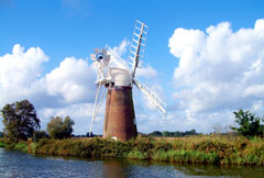 drainage mill of the Norfolk Broads