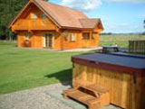 luxury log cabins and chalets for holidays